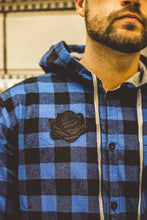 Load image into Gallery viewer, Black Rose Flannel