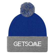 Load image into Gallery viewer, GetSome Pom Pom Knit Cap w/white logo