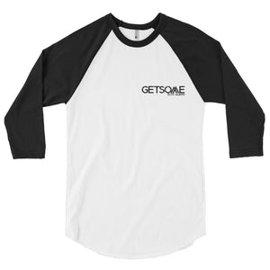 GetSome Men's 3/4 sleeve raglan shirt