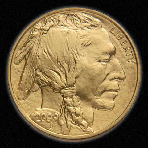 2009 $50 Gold Buffalo NGC MS70