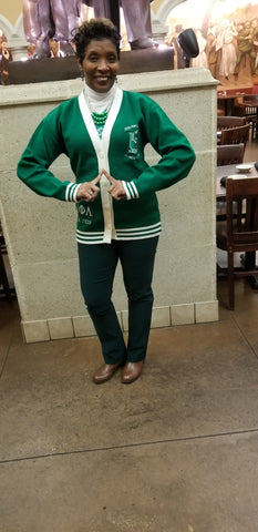 Embroidered Iota Phi Lambda Cardigan * some sizes on backorder*