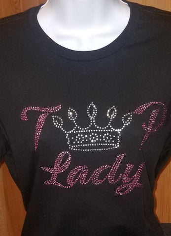 T👑P Lady bling tee