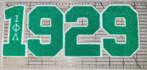 1929 chenille patch