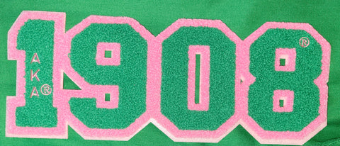 AKA 1908 chenille patch