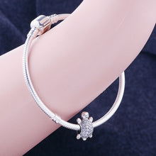 Load image into Gallery viewer, Sparkly 100% Genuine 925 Sterling Silver To Fit Original Pandora Charm Bracelets