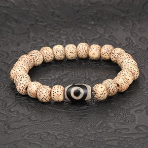 Summer Stylish! 'UNISEX' Sea Turtle With Terrific Natural Stones Bracelet!
