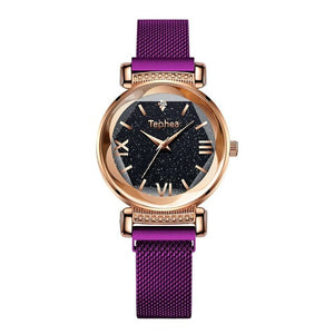Elegant Magnet Buckle Ladies Wristwatch - SunnyLandWatches