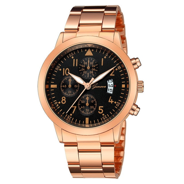Stainless Steel Business Watches for Men - SunnyLandWatches