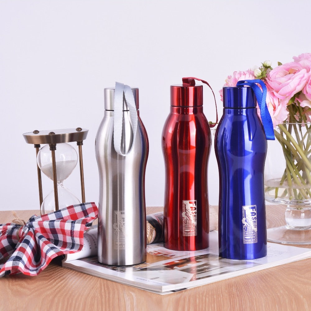 Stainless Steel Sports Water Bottle