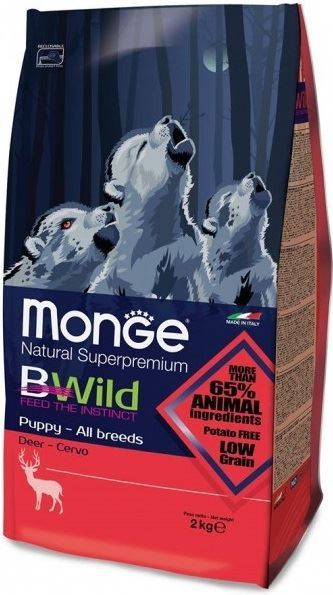 Monge® Bwild Puppy Deer Dog Food 2.5KG - exxab.com