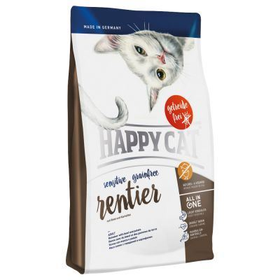 Happy Cat® Reindeer Adult Cat Food 4KG - exxab.com