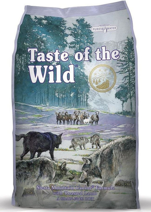 Taste of the wild® Roasted Lamb Dog Food - exxab.com