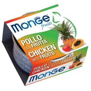 Monge® Chicken & Fruits Cat Food (12/pack) - exxab.com