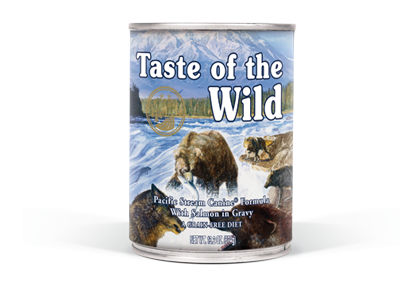 Taste of the wild® Pacific Stream Canine Formula 374g (12/pack) - exxab.com