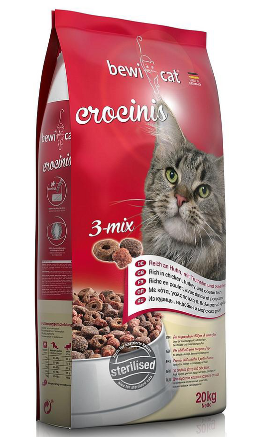 Bewi-Cat Crocinis Adult Cat Food - exxab.com