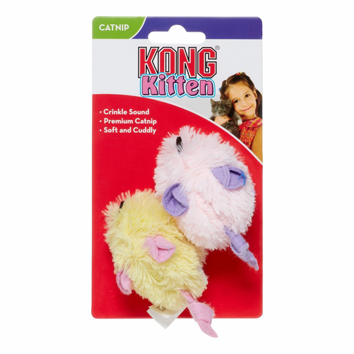 Kong® Kitten Mice Cat Toy exxab.com