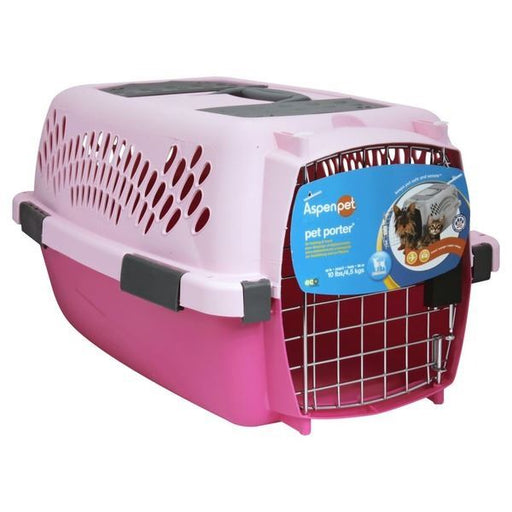 Aspen Pet Porter Fashion Pink Pet Taxi Up To 10 Lbs(4.5 Kg) exxab.com