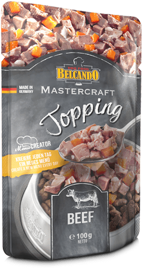 Belcando® Beef Topping 100g Dog Food (3/Pack) - exxab.com