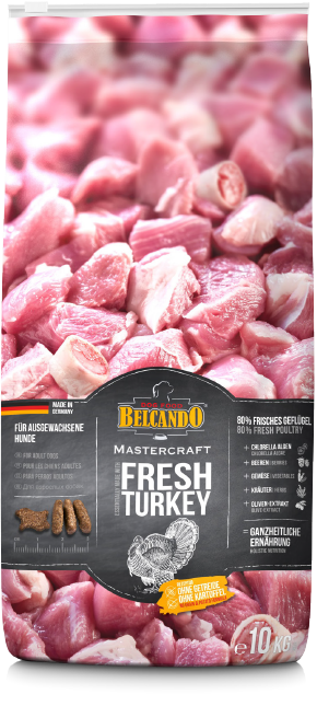 Belcando® Master Craft Fresh Turkey Dog Food - exxab.com