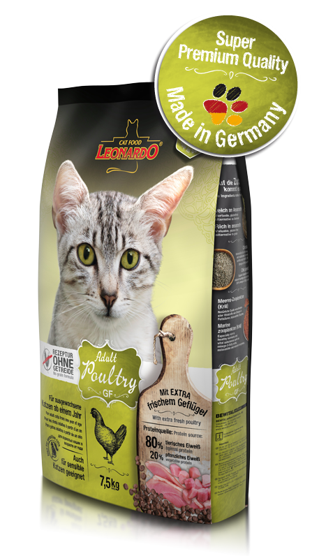 Leonardo Adult Grainfree Cat Food 1.8kg - exxab.com