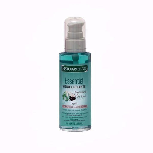Naturaverde Essential Siero Lisciante smoothing serum essential Butter & Acai Oil 100ml - exxab.com