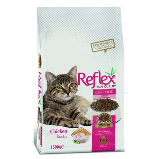 Reflex® Chicken Adult Cat Food 15kg - exxab.com