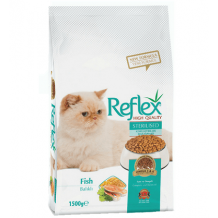 Reflex® Sterilized Adult Cat Food 15kg - exxab.com