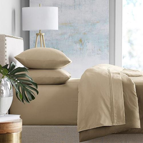Member's Mark 450-Thread-Count Sheet Set, FULL TAUPE - exxab.com