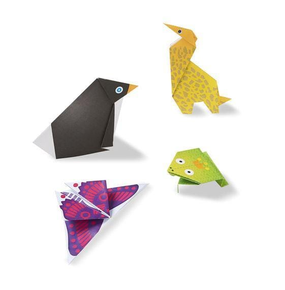 Melissa A Doug 9442 On the Go origami Animals Craft Activity Set