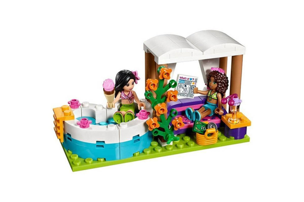 Bela Friend Princess Heartlake Summer Pool building blocks exxab.com