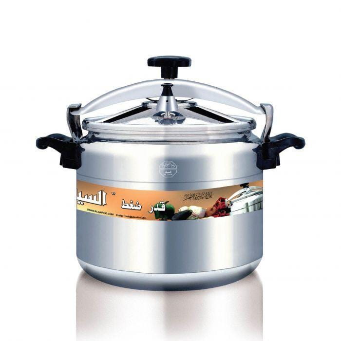 Alsaif stainless steel pressure cooker cooking pot - exxab.com