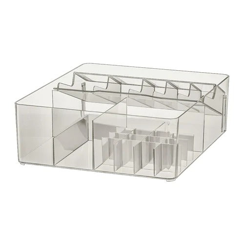 Multipurpose Makeup Organizer Box with compartments exxab.com