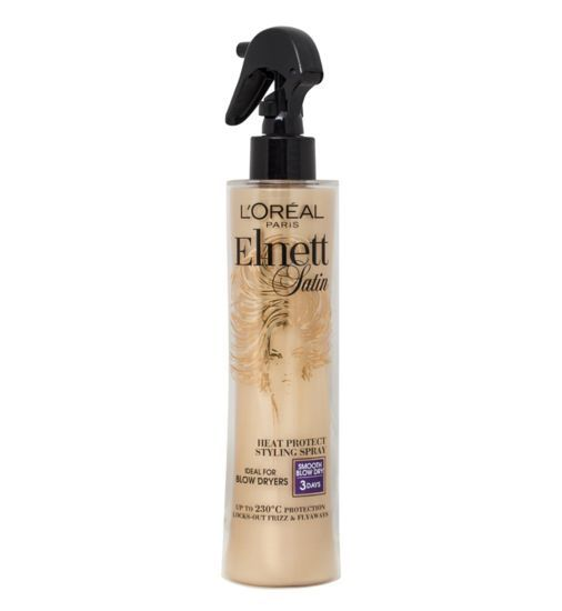 L'Oreal Elnett Heat Protect Smooth Blow Dry Hairspray 170ml - exxab.com