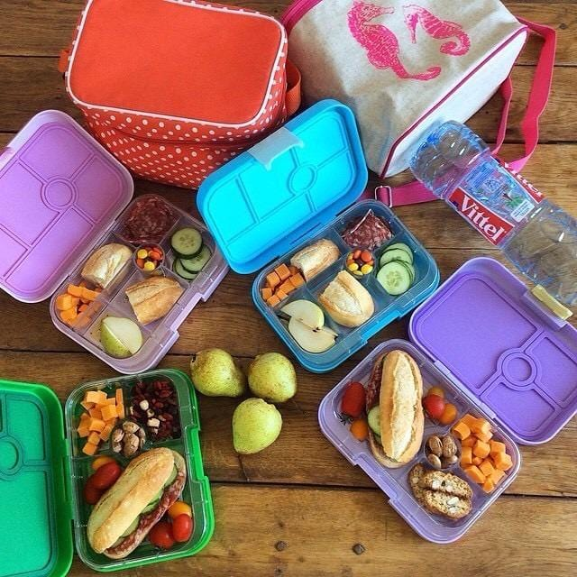 Yumbox original 6 compartment lunch box container for kids