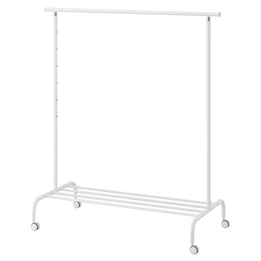 RIGGA White Clothes Rack exxab.com