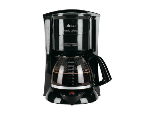 Ufesa CG7231 Black Coffee Maker 4Cups