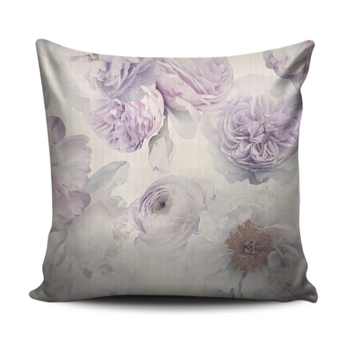 Home decoration cushion with purple flower pattern - exxab.com