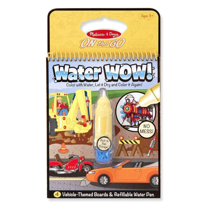 Melissa A Doug 5375 Water Wow Vehicles, On the go Travel Activity exxab.com
