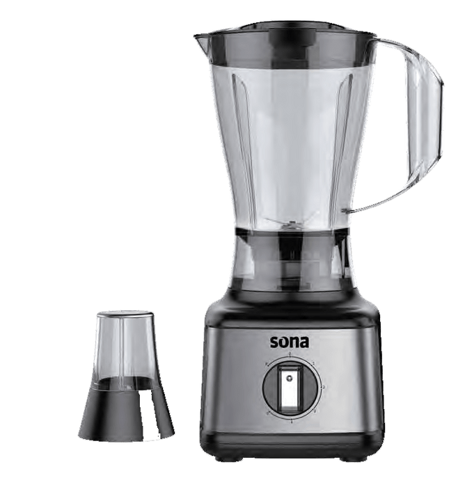 Sona SB-1056B Electric Plastic Blender With Grinder exxab.com