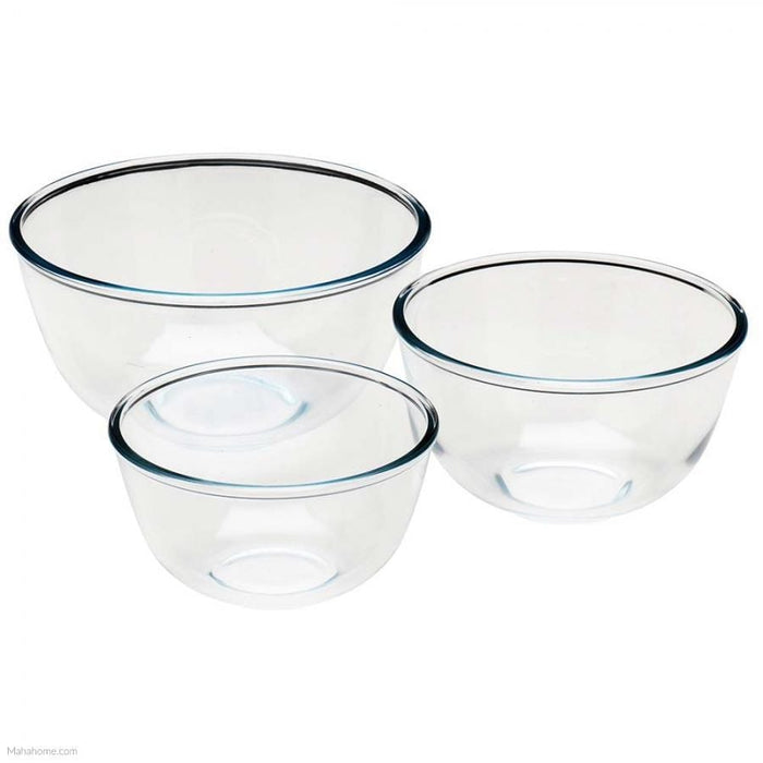 Pyrex 333S703 Multi Purpose Bowl Set - 3 Piece - exxab.com