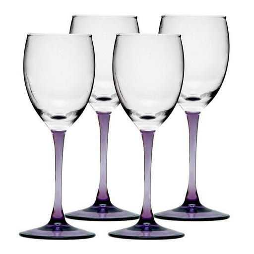 Luminarc  2309 set of glasses for drinks luminarc sweet Lilac color exxab.com