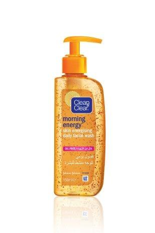 CLEAN & CLEAR® MORNING ENERGY® Skin Energising Daily Facial Wash - exxab.com