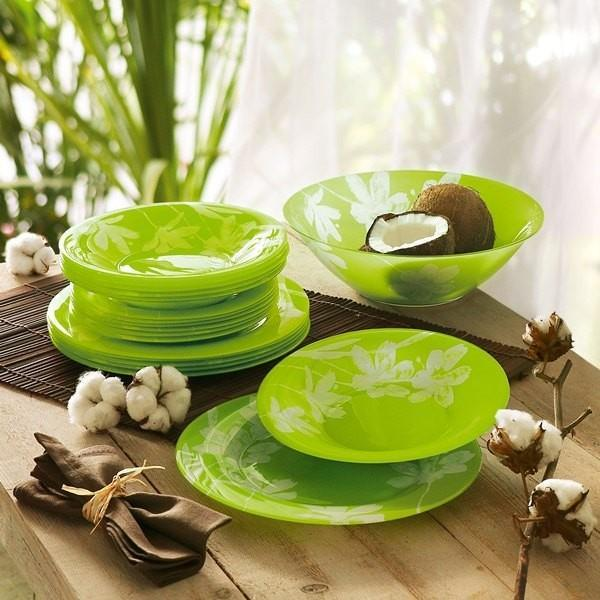 Luminarc Dinner set Cotton Flower18 pcs exxab.com