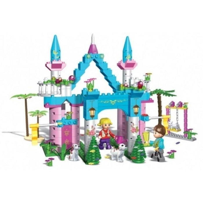 BanBao BB-6168 Princess Series Flower Fairy Castle 300pcs exxab.com