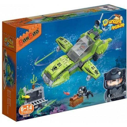 BanBao BB-7412 Construction Kit Submarine 203-Piece exxab.com