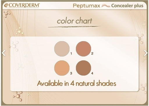 Coverderm Peptumax Concealer exxab.com