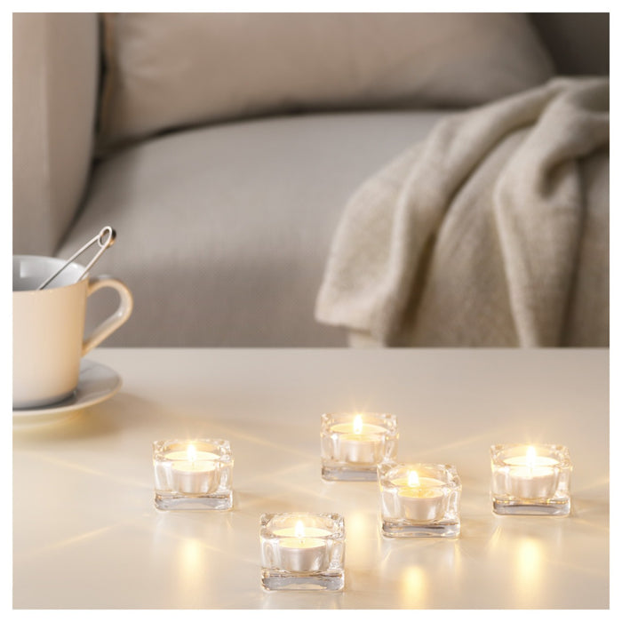 Scented Tealight, Sweet Vanilla, Natural (30 pack) exxab.com
