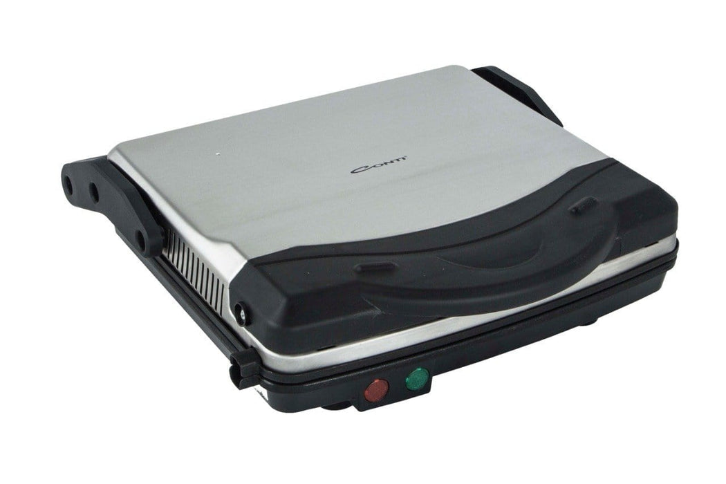 Conti GC-2170 Electric Stainless steel Grill with tefal plates,1500watt exxab.com