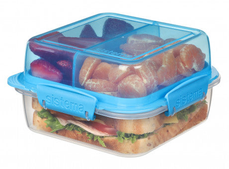 Sistema 21610 Lunch Stack Square To Go 1.24 Liter exxab.com