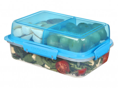 Sistema 21710 Lunch  Stack Rectangle To Go 1.8 Liters exxab.com